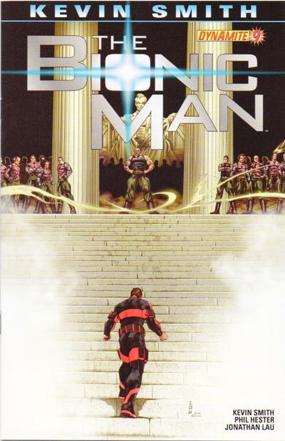 Cover for Bionic Man (Dynamite Entertainment, 2011 series) #9 [Cover A (Main) Alex Ross]