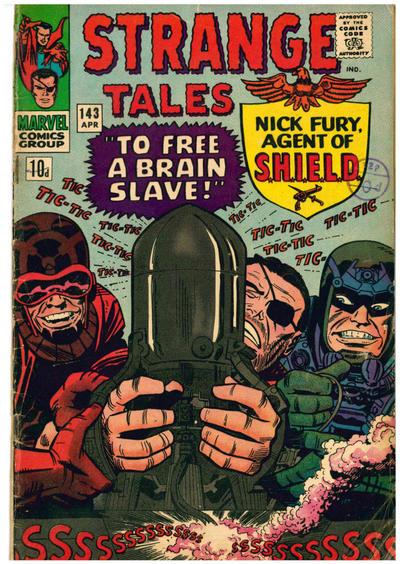 Cover for Strange Tales (Marvel, 1951 series) #143 [Regular Edition]