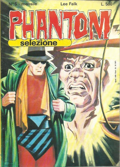 Cover for Phantom Selezione (Edizioni Fratelli Spada, 1976 series) #5