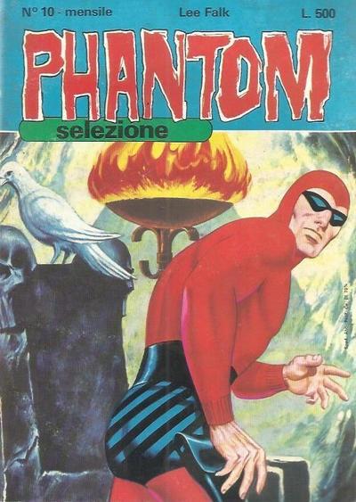 Cover for Phantom Selezione (Edizioni Fratelli Spada, 1976 series) #10