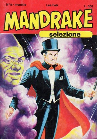 Cover for Mandrake selezione (Edizioni Fratelli Spada, 1976 series) #15