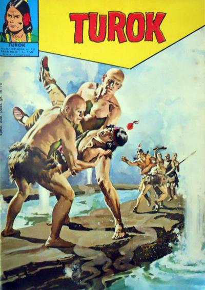 Cover for Albi Spada - Turok (Edizioni Fratelli Spada, 1972 series) #12