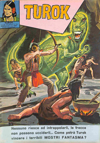 Cover for Albi Spada - Turok (Edizioni Fratelli Spada, 1972 series) #11