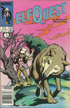 Cover for ElfQuest (Marvel, 1985 series) #14 [Newsstand]