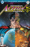 Cover for Action Comics (DC, 2011 series) #989 [Nick Bradshaw Non-Lenticular Variant]