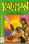 Cover for Kaliman (Editora Cinco, 1976 series) #36