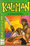 Cover for Kaliman (Editora Cinco, 1976 series) #36