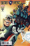 Cover for Secret Empire (Marvel, 2017 series) #1 [Todd Nauck Fried Pie Exclusive]
