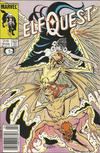 Cover for ElfQuest (Marvel, 1985 series) #19 [Newsstand]