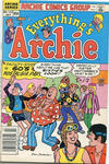 Cover for Everything's Archie (Archie, 1969 series) #124 [Canadian Newsstand Edition]