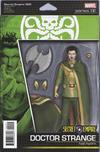 Cover for Secret Empire (Marvel, 2017 series) #2 [John Tyler Christopher Action Figure (Hydra Dr. Strange)]