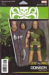 Cover for Secret Empire (Marvel, 2017 series) #3 [John Tyler Christopher Action Figure (Hydra Odinson)]