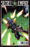 Cover for Secret Empire (Marvel, 2017 series) #4 [Dan Mora 'Villain']