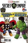 Cover for Secret Empire (Marvel, 2017 series) #5 [2017 SDCC Exclusive Barry Bradfield 'Minimates']