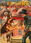Cover for El Lobo The Man from Nowhere (Cleland, 1956 series) #2
