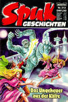 Cover for Spuk Geschichten (Bastei Verlag, 1978 series) #213