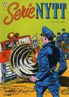 Cover for Serie-nytt [Serienytt] (Formatic, 1957 series) #21/1959