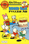 Cover Thumbnail for Donald Pocket (1968 series) #154 - Donald Duck fyller år [1. opplag Reutsendelse 384 49]