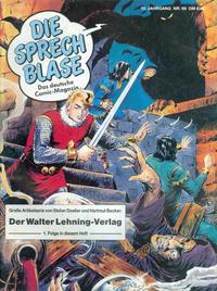 Cover Thumbnail for Die Sprechblase (Norbert Hethke Verlag, 1978 series) #69