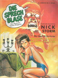 Cover Thumbnail for Die Sprechblase (Norbert Hethke Verlag, 1978 series) #72