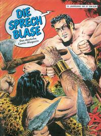 Cover Thumbnail for Die Sprechblase (Norbert Hethke Verlag, 1978 series) #87