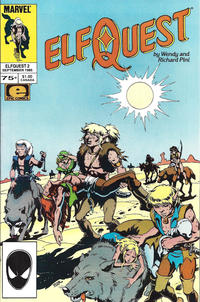 Cover Thumbnail for ElfQuest (Marvel, 1985 series) #2 [Direct]