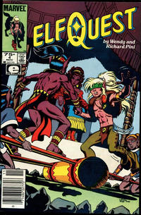 Cover Thumbnail for ElfQuest (Marvel, 1985 series) #4 [Newsstand]