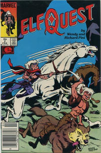 Cover Thumbnail for ElfQuest (Marvel, 1985 series) #7 [Canadian]