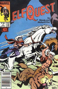 Cover Thumbnail for ElfQuest (Marvel, 1985 series) #7 [Newsstand]