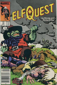 Cover Thumbnail for ElfQuest (Marvel, 1985 series) #10 [Canadian]