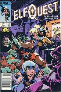 Cover Thumbnail for ElfQuest (Marvel, 1985 series) #11 [Canadian]