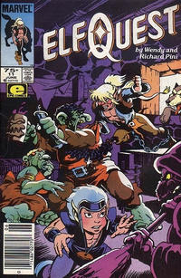 Cover Thumbnail for ElfQuest (Marvel, 1985 series) #11 [Newsstand]