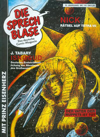 Cover Thumbnail for Die Sprechblase (Norbert Hethke Verlag, 1978 series) #110