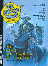 Cover Thumbnail for Die Sprechblase (Norbert Hethke Verlag, 1978 series) #167