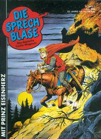 Cover Thumbnail for Die Sprechblase (Norbert Hethke Verlag, 1978 series) #161