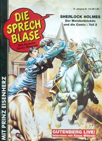 Cover Thumbnail for Die Sprechblase (Norbert Hethke Verlag, 1978 series) #118