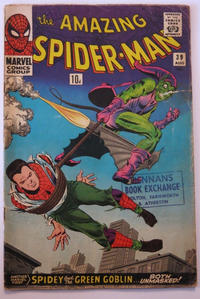 Cover Thumbnail for The Amazing Spider-Man (Marvel, 1963 series) #39 [British Price Variant]