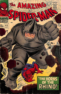 Cover Thumbnail for The Amazing Spider-Man (Marvel, 1963 series) #41 [British Price Variant]