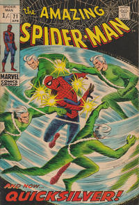 Cover Thumbnail for The Amazing Spider-Man (Marvel, 1963 series) #71 [British]