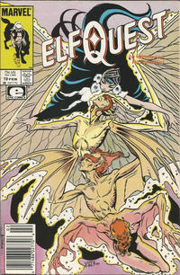 Cover Thumbnail for ElfQuest (Marvel, 1985 series) #19 [Newsstand]