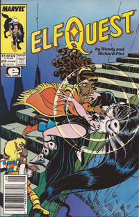 Cover Thumbnail for ElfQuest (Marvel, 1985 series) #23 [Newsstand]