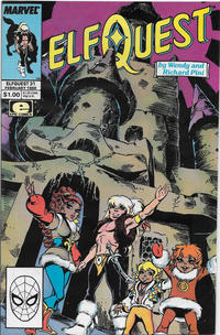 Cover Thumbnail for ElfQuest (Marvel, 1985 series) #31 [Direct Edition]