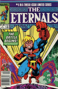 Cover Thumbnail for Eternals (Marvel, 1985 series) #1 [Canadian]
