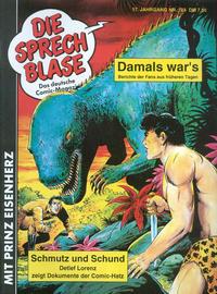 Cover Thumbnail for Die Sprechblase (Norbert Hethke Verlag, 1978 series) #124