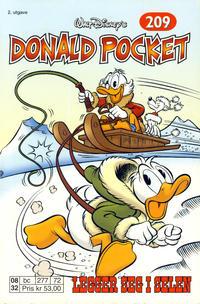 Cover Thumbnail for Donald Pocket (Hjemmet / Egmont, 1968 series) #209 - Donald legger seg i selen [2. utgave bc 277 72]