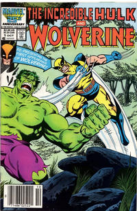 Cover Thumbnail for Incredible Hulk and Wolverine (Marvel, 1986 series) #1 [Newsstand]