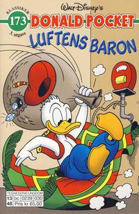Cover Thumbnail for Donald Pocket (Hjemmet / Egmont, 1968 series) #173 - Luftens baron [3. utgave bc 0239 030]