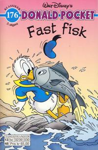 Cover Thumbnail for Donald Pocket (Hjemmet / Egmont, 1968 series) #176 - Fast fisk [3. utgave bc 0239 030]