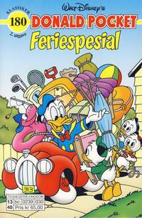 Cover Thumbnail for Donald Pocket (Hjemmet / Egmont, 1968 series) #180 - Feriespesial [2. utgave [3. utgave] bc 0239 030]