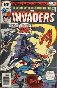 Cover Thumbnail for The Invaders (Marvel, 1975 series) #7 [British]